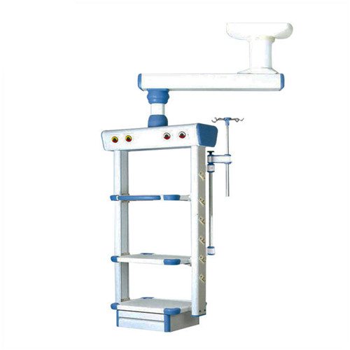 Twin Arm Electric Surgical Pendant Medical Crane Tower For