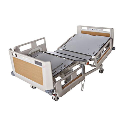 JQ-FM-4 Hospital furniture multifunction patient bed five function ICU bed