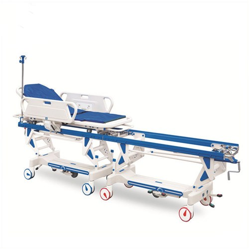 JQ-856 Manual connecting transfer stretcher docking cart