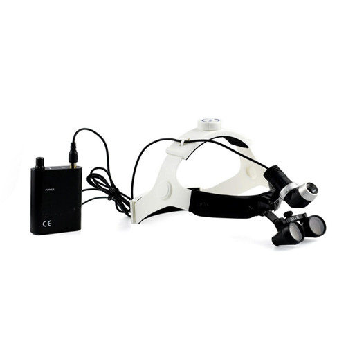 JQ-2400 Diagnosis light instrument Portable Medical Magnifier Dental Microscope LED Headlight