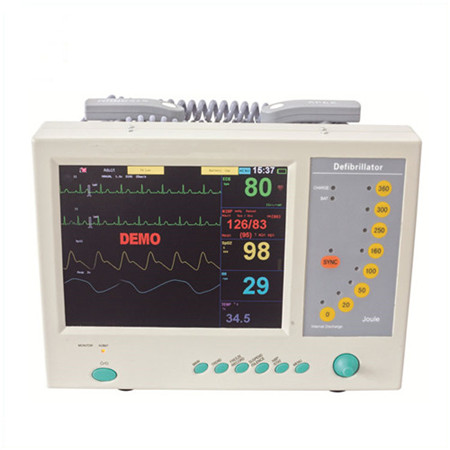 JQ-9000B 10.4''TFT monophasic Defibrillator with six parameters