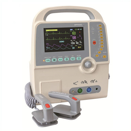 JQ-8000C Medical Monophasic and Biphasic defibrillator monitor